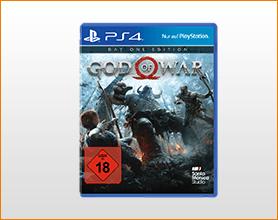 God of War - Day One Edition - PlayStation 4 für 44.99
