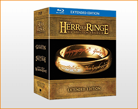 Der Herr der Ringe - Extended Edition Trilogie (15 Blu-rays) für 43.99