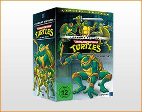 Teenage Mutant Ninja Turtles - Gesamtedition (22 DVDs) für 39.99