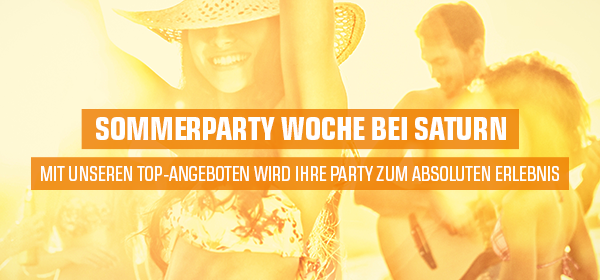Sommerparty Woche bei SATURN