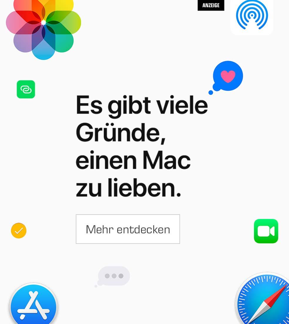 Es gibt viele Gründe, einen Mac zu lieben.