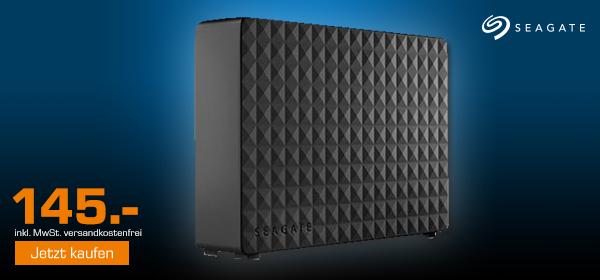 SEAGATE Expansion Desktop Rescue Edition 5TB für 145.-