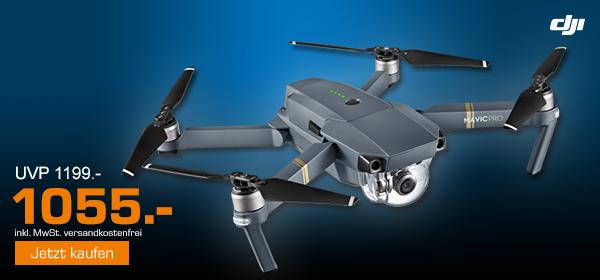 DJI Mavic Pro Drohne für 1055€