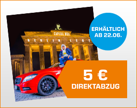 Capital Bra - Berlin lebt (limited Fanbox) - (CD) für 31.99 nach Direktabzug im Warenkorb
