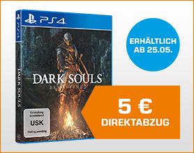 Dark Souls: Remastered - PlayStation 4 für 34.99 nach DIrektabzug im Warenkorb