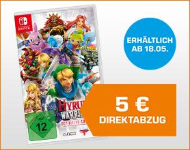 Hyrule Warriors (Definitive Edition) - Nintendo Switch für 49.99 nach Direktabzug im Warenkorb