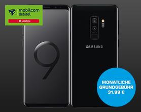amsung Galaxy S9+ im Vodafone Comfort Allnet für mtl. 31.99 ? Einmalpreis 4.99