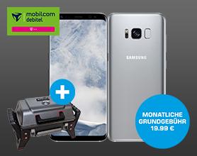 Samsung Galaxy S8 inkl. Char-Broil Grill im Telekom Flat Allnet Comfort für mtl. 19.99 ? Einmalpreis 49.-