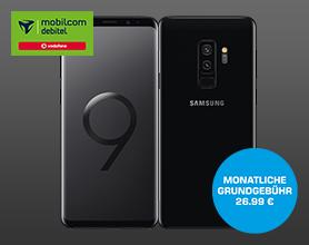 Samsung Galaxy S9 im Vodafone Comfort Allnet für mtl. 26.99 ? Einmalpreis 4.99