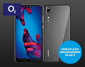 Huawei P20 im O2 All-in-M für mtl. 29.99 ? Einmalpreis 49.-