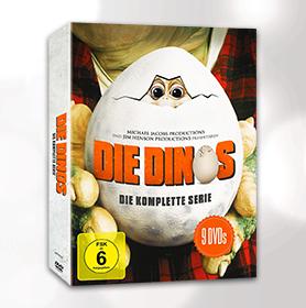 Die Dinos - die komplette Serie (9 DVDs) für 20€