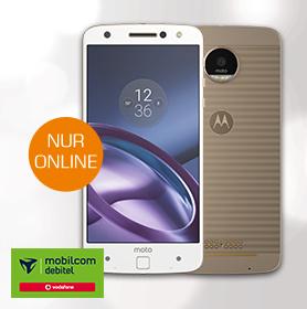 Motorola Moto Z mit Vodafone Real Allnet für monatlich 34,99€ / Einmalpreis 1€