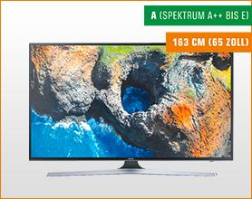 SAMSUNG UE65MU6179 UHD 4K TV für 899.-