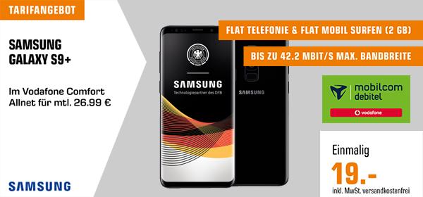 Tarifangebot - Samsung Galaxy S9+ für mtl. 26.99